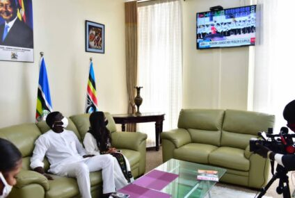 This is why Akon didn't perfom at Museveni's swearing in