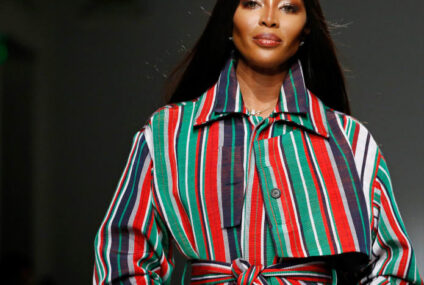 Naomi Campbell welcomes her first child at 50