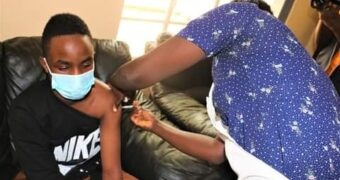 Lukwago launches covid 19 vaccination
