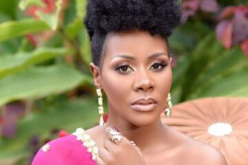 Desire Luzinda officially gives in to Christ