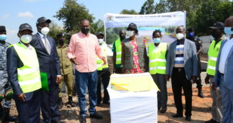 Agricultural Ministry Commissions ground breaking of Ugx3.2Bn agriculture mechanization Centre
