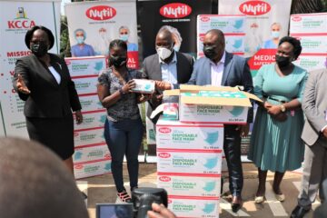 Nytil and CSC&EC donates face masks and mosquito nets to KCCA