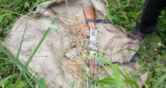 Police recovers two stolen guns in Nakaseke