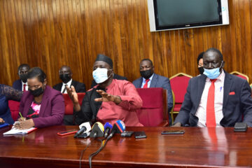 Opposition MPs vow to boycott parliamentary sittings until Ssewanyana and Ssegirinya are released